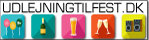 udlejningtilfest.dk Logo