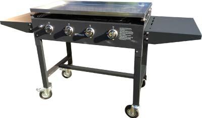 grill med stegeplade til fest og events
