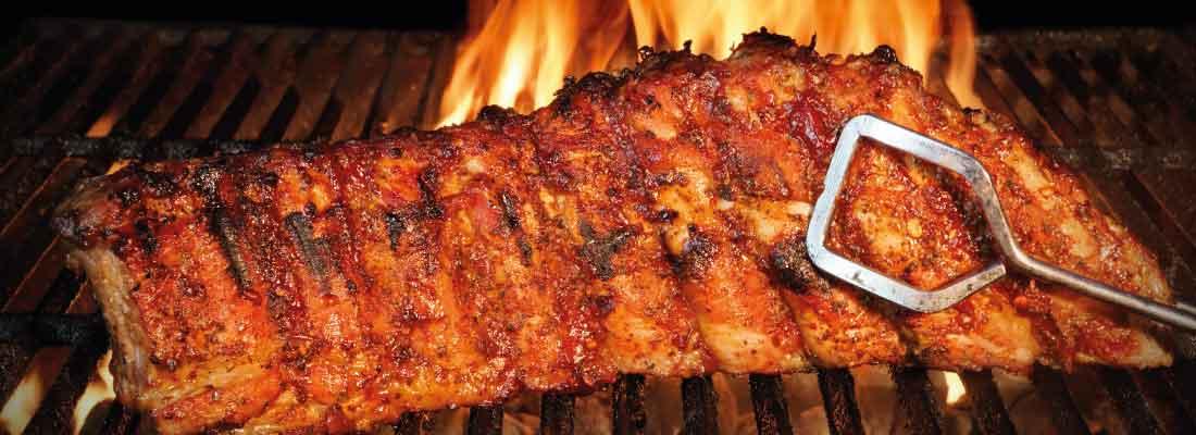 BBQ grill buffet til fest og event i Danmark - mad ud af huset